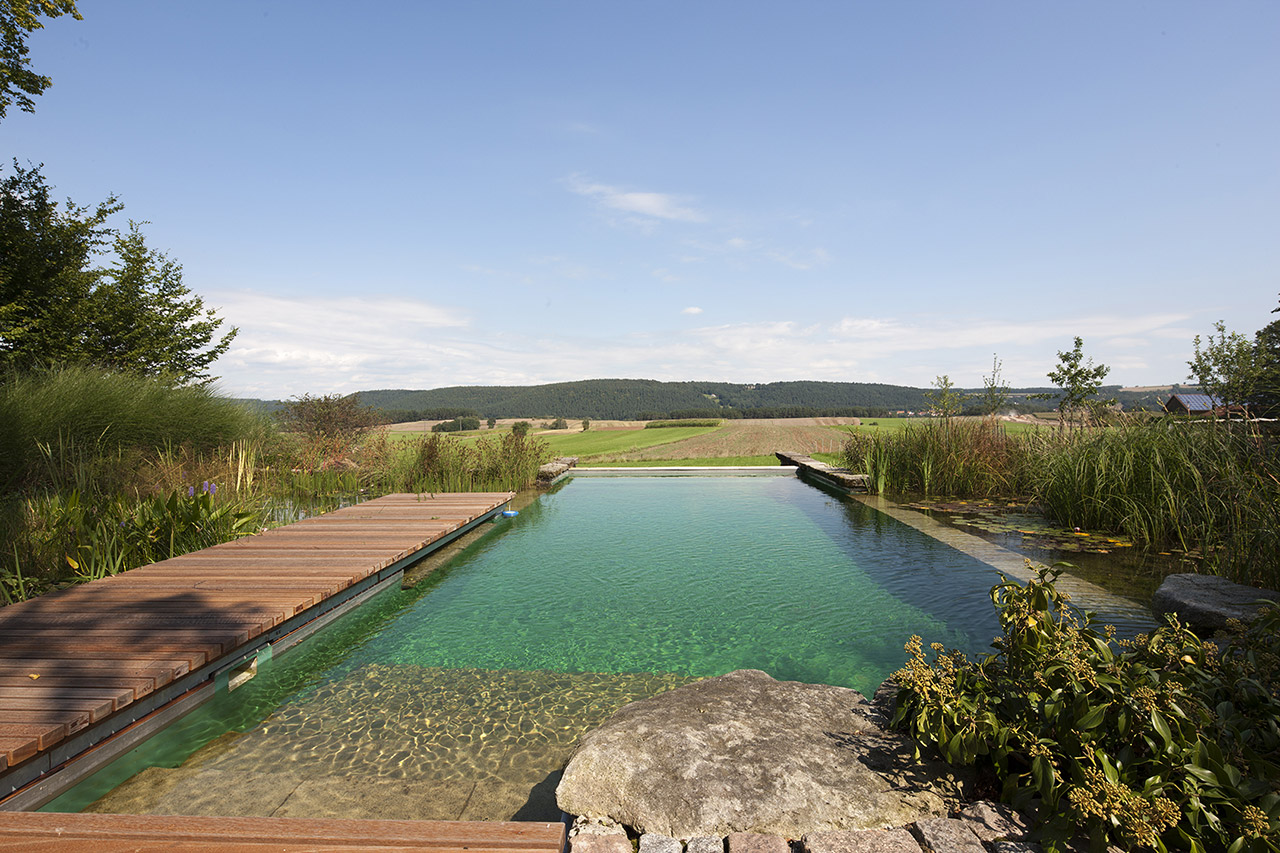 Our projects natural swimming pools australia Natural swimming pool builders